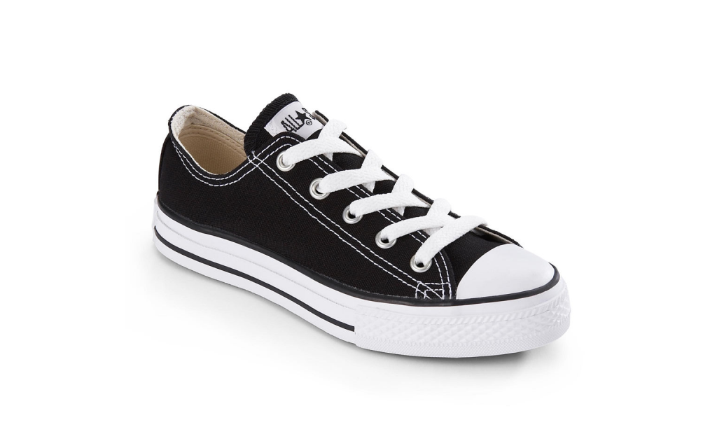 Converse black Chuck Taylors-training-shoes